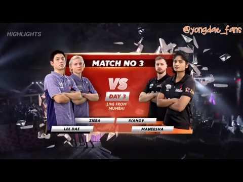 2017 Highlights PBL XD Lee Yong Dae 이용대 / Zieba vs Ivanov / Maneesha