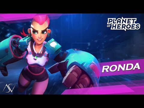 Planet Of Heroes - MOBA 5v5 (Android/iOS) - Ronda Gameplay!