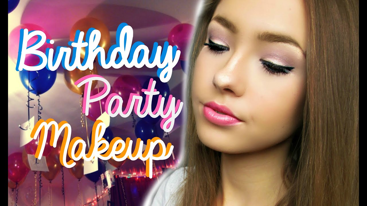 Birthday Party Makeup Tutorial Ft