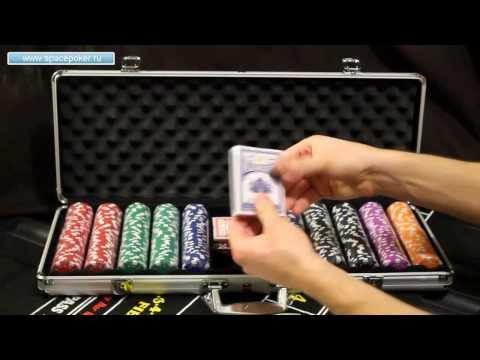 Набор для покера Dice 500 фишек без номинала - обзор