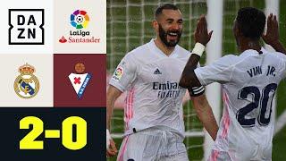 Asensio und Benzema lassen Eibar keine Chance! Real Madrid - Eibar 2:0 | LaLiga