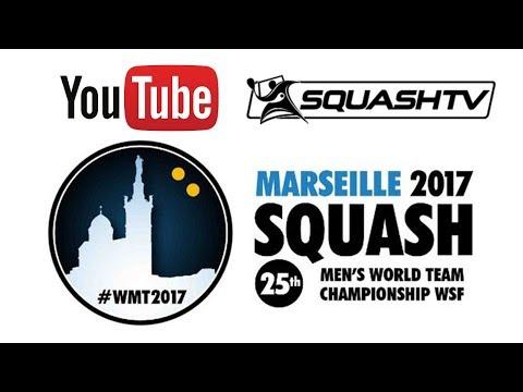 WSF Men's World Team Champs 2017 - Day 7 - Placing Playoffs - (Modern Squash)