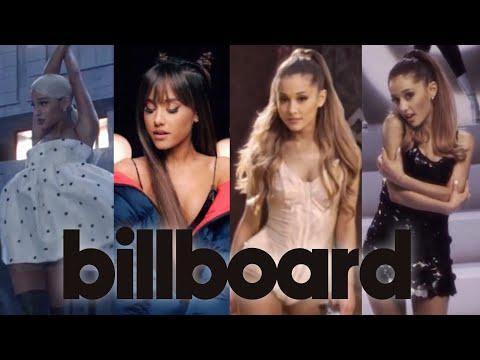 Ariana Grande Full Billboard Hot 100 History