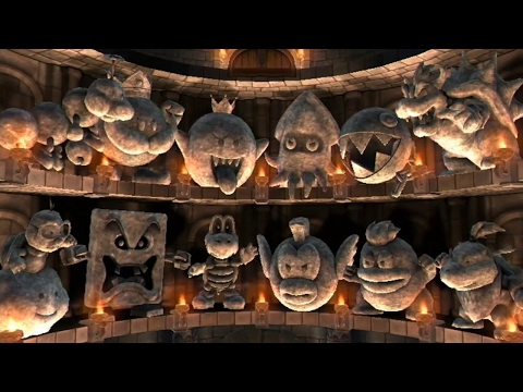 Mario Party 9 - Boss Rush (All Boss Battles)