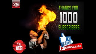 Thank You All  for 1000 Subscribers !!!