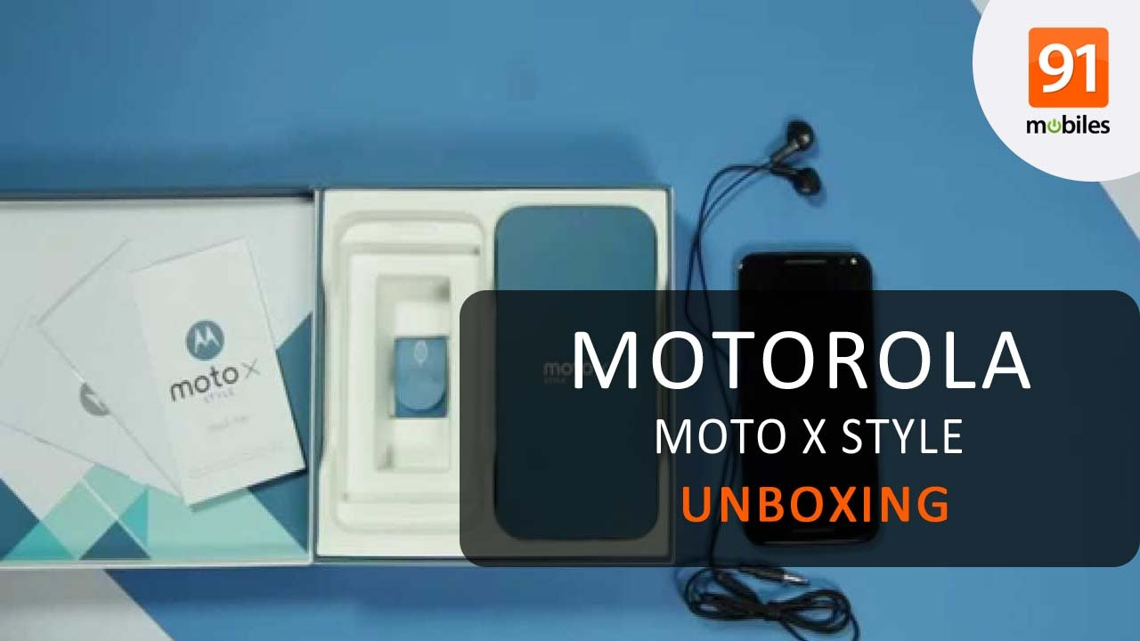 Moto X Style Unboxing [Quick]