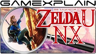 Zelda Wii U & NX Analysis - Rock Climbing Artwork (Secrets & Hidden Details)