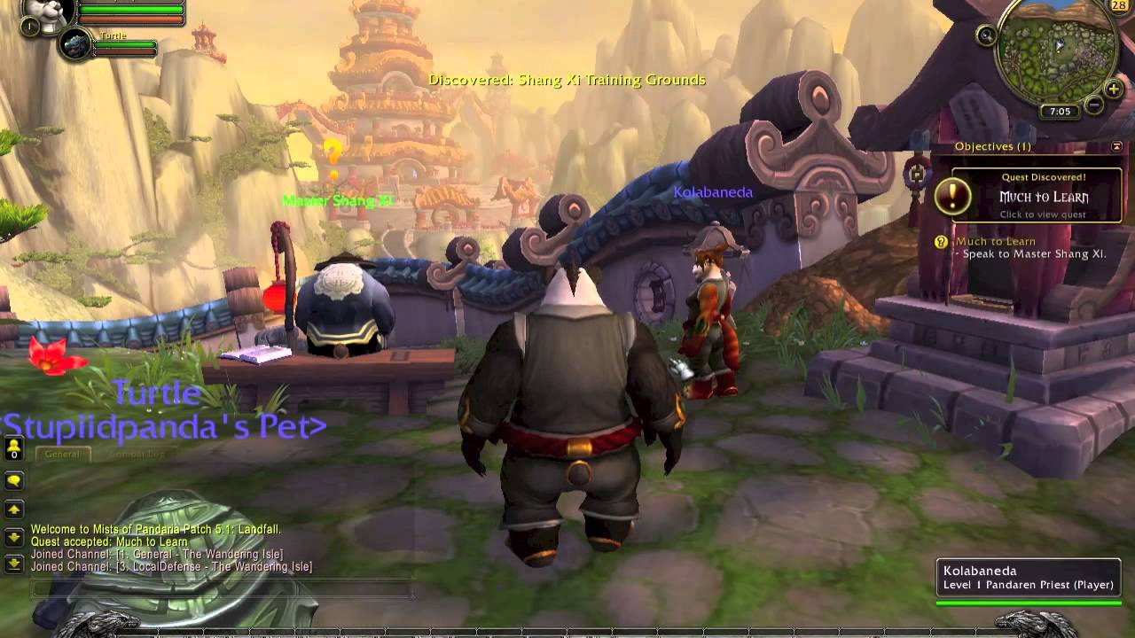 WoW-KungFu panda movie reference