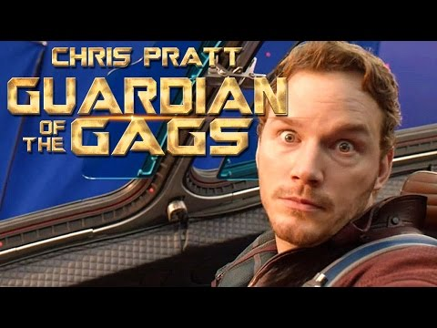 Chris Pratt is The Guardian of the Gags
