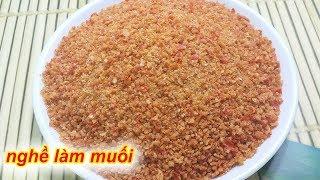 Cách làm muối ớt rang khô ăn trái cây rất ngon - Rất Dễ Làm
