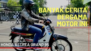 HONDA ASTREA GRAND 95 Modifikasi TERJUAL - Zerotrip Racing full carbonlook