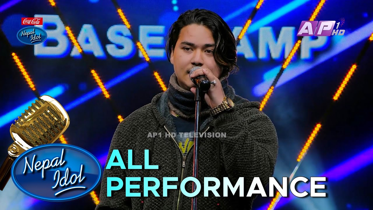 PRABIN BEDWAL'S ALL PERFORMANCE | NEPAL IDOL SEASON 3 | AP1HD