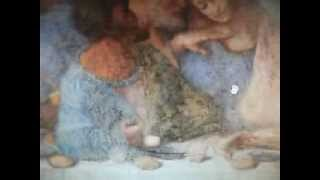 REPTILIAN HEAD in 'The Last Supper' Painting