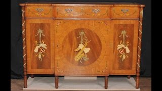 Regency Sheraton Painted Sideboard Buffet Server