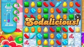 Candy Crush Soda Saga - Level 729 (3 star, No boosters)