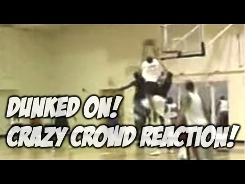 INSANE Poster Dunk and Crazy Crowd Reaction! #DunkCam