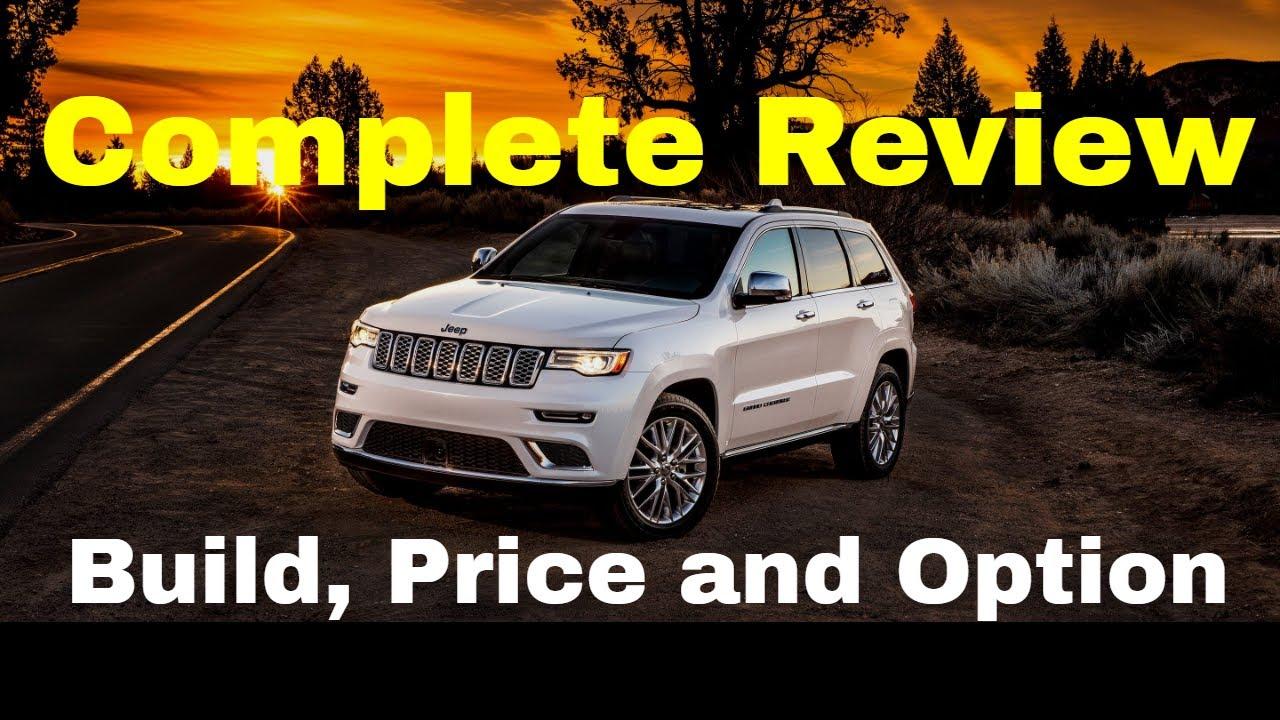 2018 Jeep Grand Cherokee Summit W 5 7l