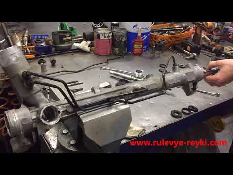 Ремонт рулевой рейки Форд фокус 3,Рулевая рейка Ford Focus