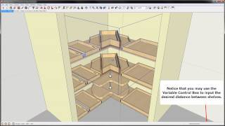 How to use the Corner Pantry Template.