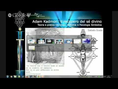 LEZIONE 1 - Adam Kadmon: il recupero del Se divino tra gnosi, alchimia e psicologia simbo...