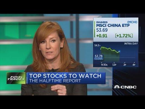 Final Trades: China tech, Crown Castle, Allergan & Verizon