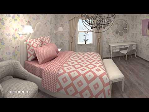 Нежная комната для девушки в стиле прованс