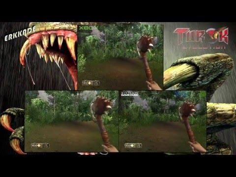 Comparison Turok Evolution Gc Vs Ps2 Vs Xbox Youtube