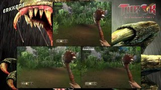 Comparison - Turok: Evolution GC vs PS2 vs XBOX