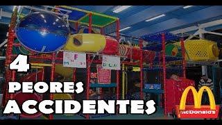 LAS 4 PEORES COSAS OCURRIDAS EN LOS JUEGOS INFANTILES, DE MCDONALDS y BURGER KING