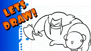 Lets Draw: Rexxar & Misha