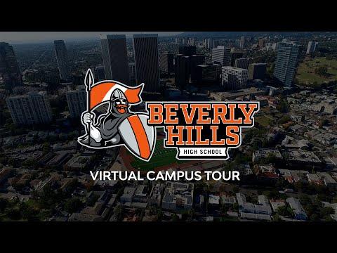 Beverly Hills High School Virtual Campus Tour | KBEV