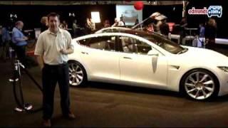 2010 Tesla Model S Concept Videos