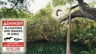 FLORIDA: JUMPING IN THE GREEN SPRINGS!!