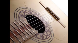 Economic flamenco guitar MB42 easy to play Marcelo Barbero 1942 maple bridge Andalusian Guitars