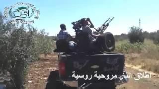 Русские боевые вертолеты атакуют ИГИЛ. Война в Сирии. Реальное видео боевых действий.