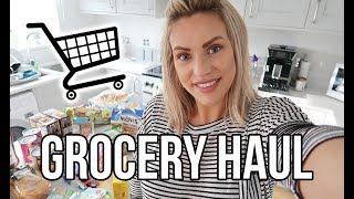 FAMILY GROCERY HAUL | TESCO FOOD SHOP FAMILY OF FOUR
