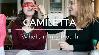 WHAT'S IN MY MOUTH - CHALLENGE