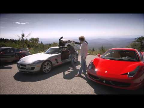 Top Gear USA Roadtrip - Jeremy Talks Through The SLS AMG