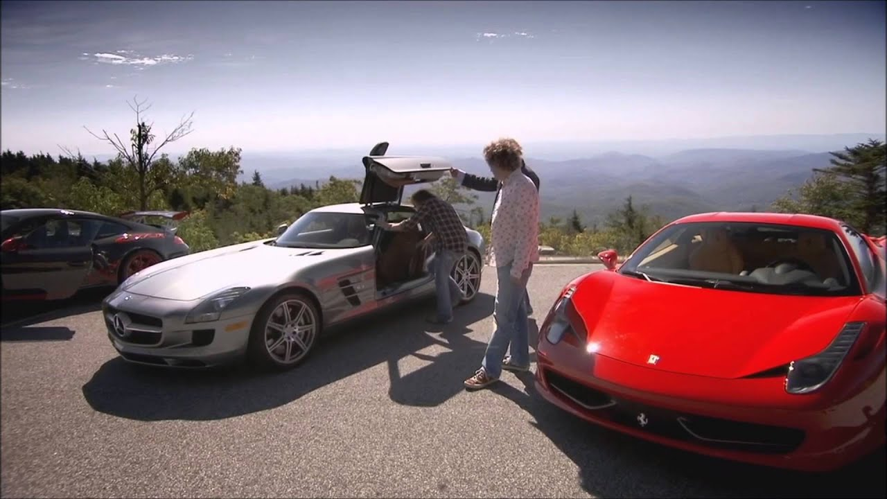 top gear usa roadtrip jeremy talks through the sls amg youtube. Black Bedroom Furniture Sets. Home Design Ideas