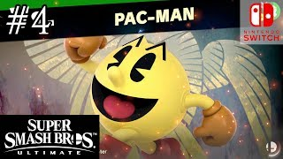 Super Smash Bros Ultimate Episode 4 PAC MAN