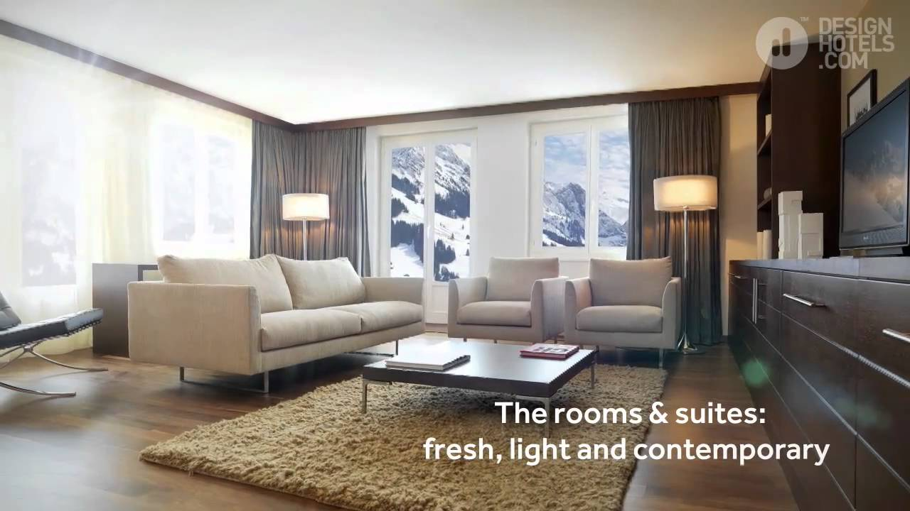 The cambrian adelboden swiss alps design hotel youtube for Design hotels alps