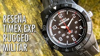 Reseña Timex Expedition Rugged T49831 Reloj Militar en Español
