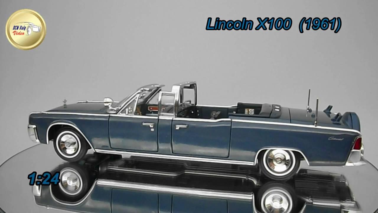 Lincoln X 100 1961 Kennedy Car Youtube