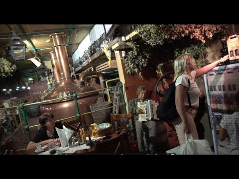 Лучшие пивные Праги. Кафе, рестораны и пивные на Водичкова в центре Праги.