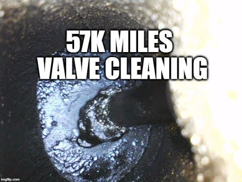 CLEANING MAZDASPEED 3 VALVES