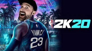 DÉCOUVERTE 🏀 NBA 2K20  (Le jeu sans ballon ❤️)
