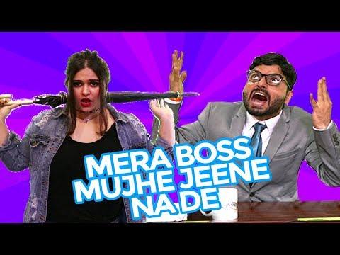 Mera Boss Mujhe Jeene Na De (Parody Of Buzz - Badshah And Aastha Gill)