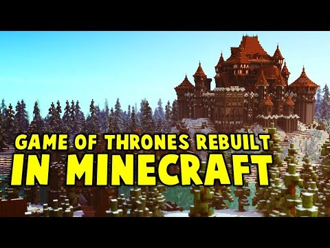 ALL Of Westeros Recreated In Minecraft's Game Of Thrones Server