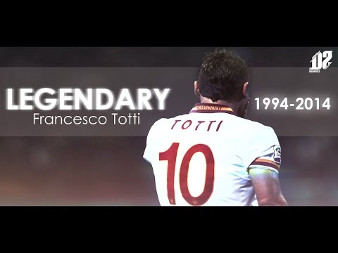 Francesco Totti - Legendary 1994  - 2015 | HD
