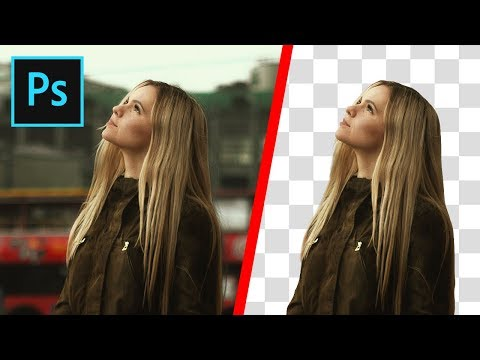 Photoshop: How To Cut Out An Image - Remove & Delete A Background